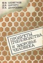 Продукты пчеловодства и здоровье человека