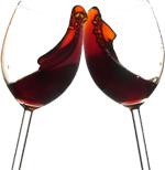 Выводим пятна от красного вина и фруктов