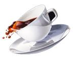 Выводим пятна от кофе