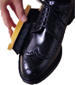 Выводим пятна от крема для обуви