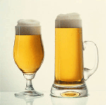 Выводим пятна от пива