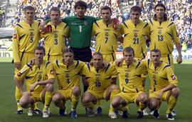 Украина в мировом футбольном рейтинге