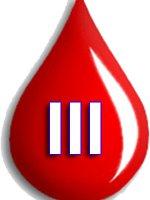 Третья группа крови